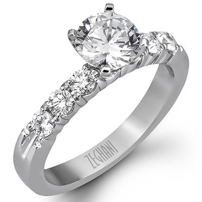 ZEGHANI ZEGHANI - ZR97 LA Engagement Ring - Birmingham Jewelry