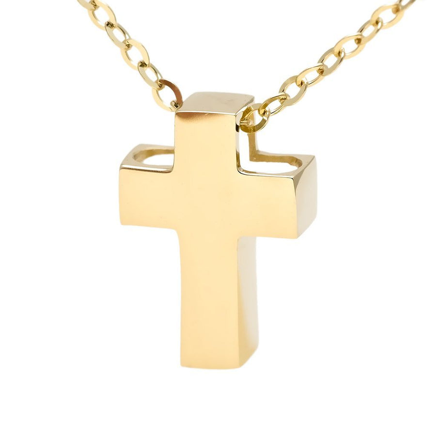 Birmingham Jewelry - 14K Gold Cross Necklace - Birmingham Jewelry