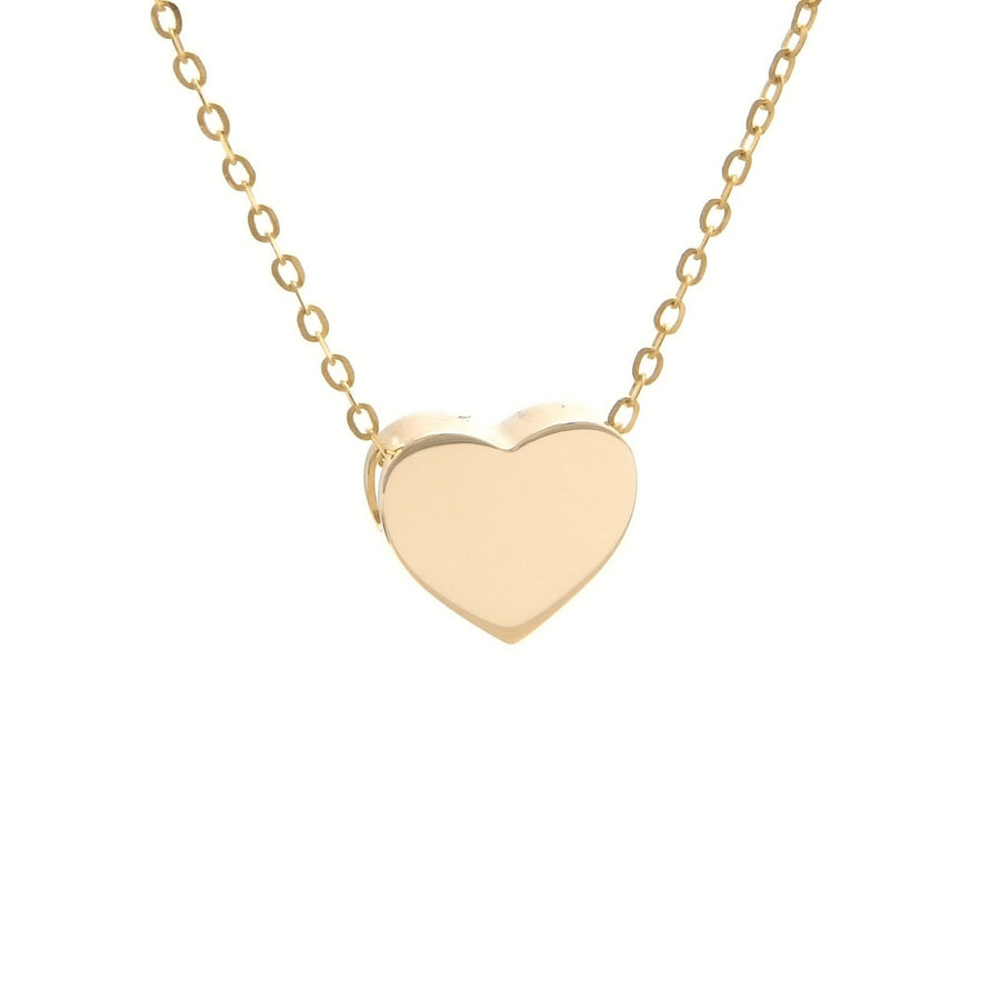 Birmingham Jewelry - 14K Gold Heart Necklace - Birmingham Jewelry