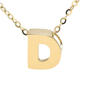 "Birmingham Jewelry - 14K Gold Initial ""D"" Necklace - Birmingham Jewelry"