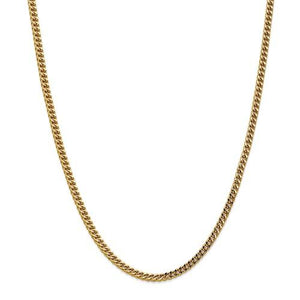 Birmingham Jewelry - 14k Gold Semi Solid Franco Chain - Birmingham Jewelry