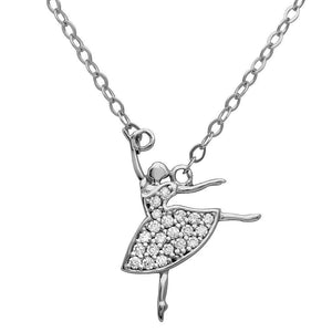 Birmingham Jewelry - Ballerina CZ Necklace - Birmingham Jewelry