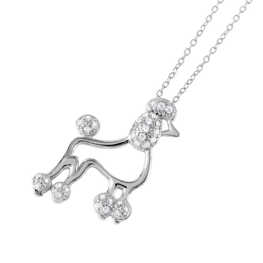 Birmingham Jewelry - French Poodle Charm Necklace - Birmingham Jewelry