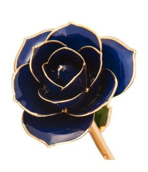 Birmingham Jewelry - Midnight Blue - 24K Dipped Rose - Birmingham Jewelry