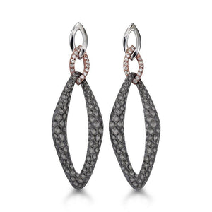 Designs by HERA - Hera - HSE100SRGDI Earrings - Birmingham Jewelry