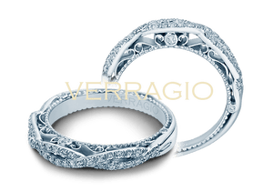 VENETIAN-5005W, Wedding Band, Verragio - Birmingham Jewelry