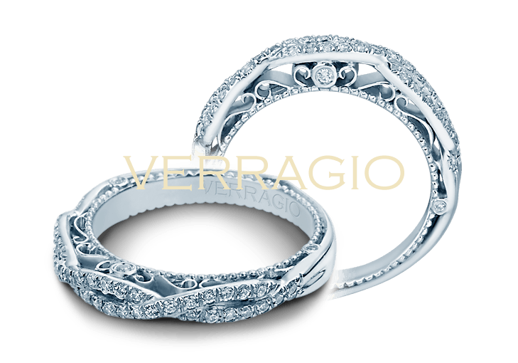 Verragio VENETIAN-5005W Wedding Band - Birmingham Jewelry
