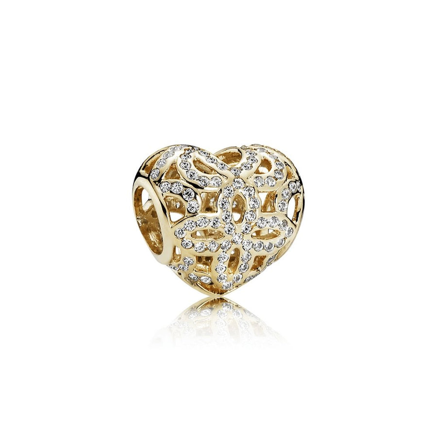Pandora - Pandora - 750837CZ - Love & Appreciation Charm - Birmingham Jewelry