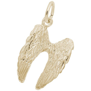 Rembrandt Charms - Rembrandt Charms - Angel Wings Charm - 2750 - Birmingham Jewelry