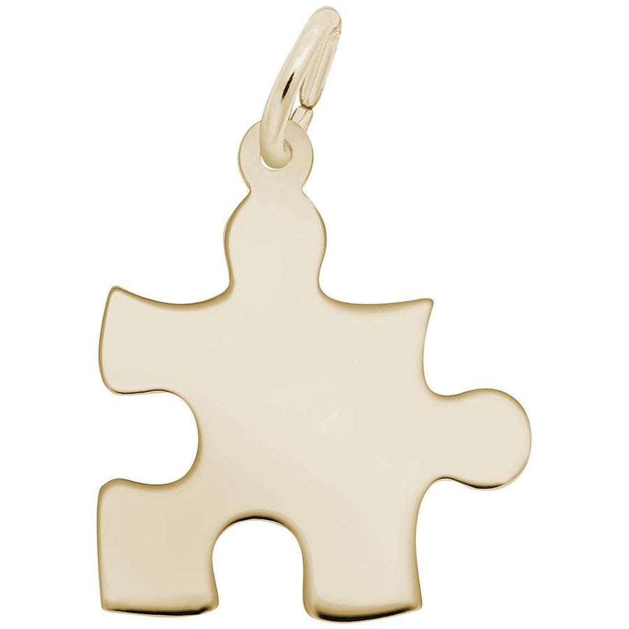 Rembrandt Charms - Rembrandt Charms - Autism Awareness Puzzle Piece Charm - 2479 - Birmingham Jewelry