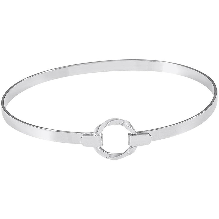 Rembrandt Charms - Rembrandt Charms - Centered Bangle Bracelet - 20-0500 - Birmingham Jewelry