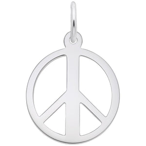 Rembrandt Charms - Rembrandt Charms - Peace Symbol Charm - 2148 - Birmingham Jewelry