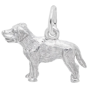 Rembrandt Charms - Rembrandt Charms - Small Labrador Retriever Dog Charm - 2404 - Birmingham Jewelry