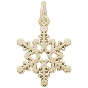 Rembrandt Charms - Rembrandt Charms - Snowflake Charm - 7816 - Birmingham Jewelry