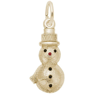 Rembrandt Charms - Rembrandt Charms - Snowman Charm - 6552 - Birmingham Jewelry