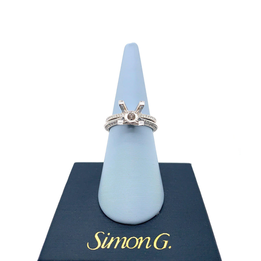 Simon G Simon G - NR333 Engagement Ring Set - Birmingham Jewelry