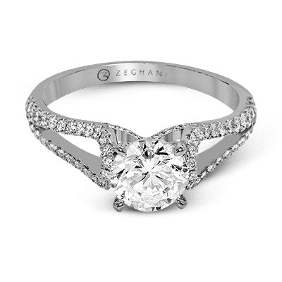 ZEGHANI ZEGHANI - ZR1226 Engagement Ring - Birmingham Jewelry