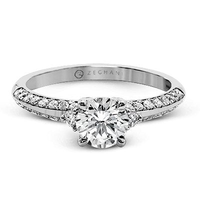 ZEGHANI ZEGHANI - ZR1227 Liberty Engagement Ring - Birmingham Jewelry