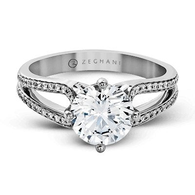 ZEGHANI ZEGHANI - ZR1243 Engagement Ring - Birmingham Jewelry