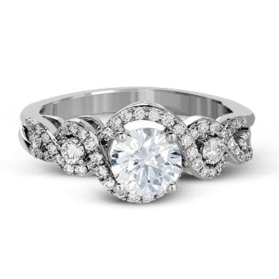 ZEGHANI ZEGHANI - ZR1274 Macau Engagement Ring - Birmingham Jewelry