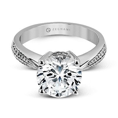 ZEGHANI ZEGHANI - ZR1284 Engagement Ring - Birmingham Jewelry