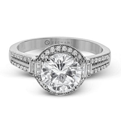ZEGHANI ZEGHANI - ZR1319 Engagement Ring - Birmingham Jewelry