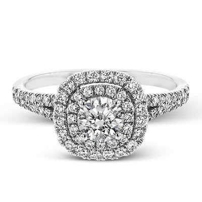 ZEGHANI ZEGHANI - ZR1613 Engagement Ring - Birmingham Jewelry