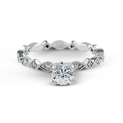 ZEGHANI ZEGHANI - ZR228 Ibiza Engagement Ring - Birmingham Jewelry