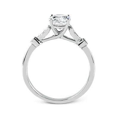 ZEGHANI ZEGHANI - ZR397 Star Of Bali Engagement Ring - Birmingham Jewelry
