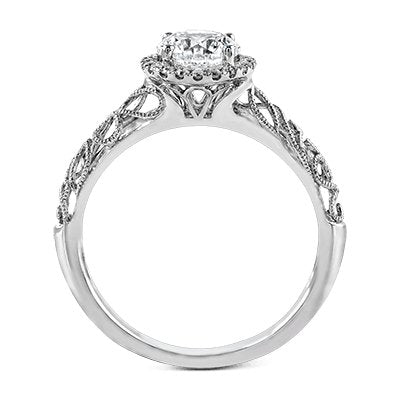 ZEGHANI ZEGHANI - ZR826 Winter Ivy Engagement Ring - Birmingham Jewelry