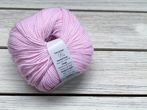 Light pink baby merino  | Drops