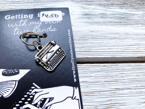 Typewriter stitch marker