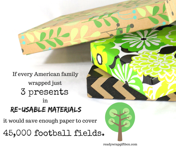 Think Before You Wrap: 4 Green Gift Wrap Ideas