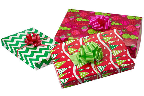 green-christmas-wrapping-paper