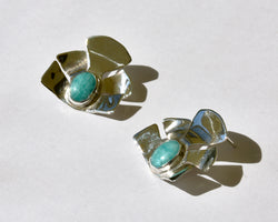 Iris Amazonite Earrings