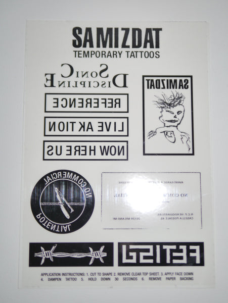 SM022 TEMPORARY TATTOOS