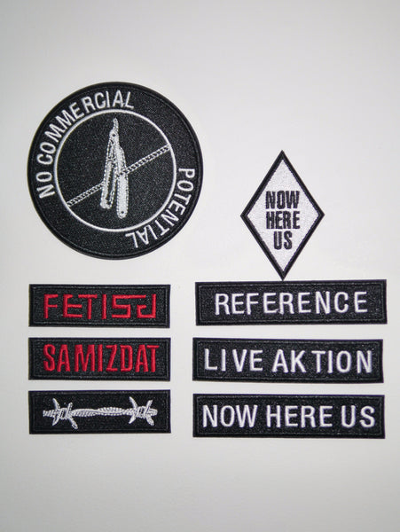SM017 WOVEN PATCHES