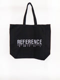 SM075 REFERENCE TOTE BAG - BLACK