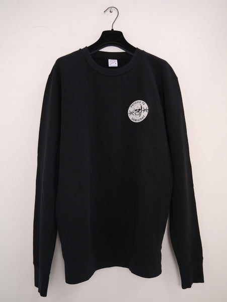 SM097 PTV SWEATSHIRT - BLACK