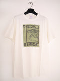 SM092 SPLIT EP T-SHIRT - WHITE