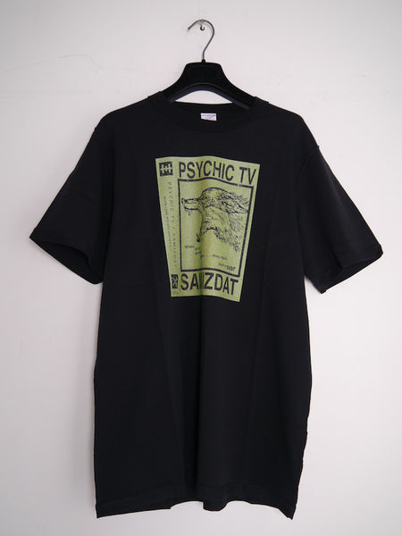 SM092 SPLIT EP T-SHIRT - BLACK