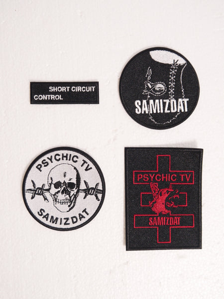 SM076 WOVEN PATCHES