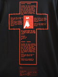SM064 CHRIST T-SHIRT - BLACK