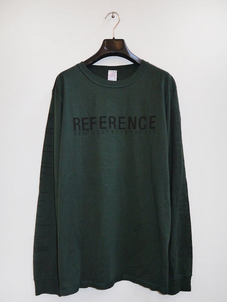 SM035 REFERENCE II LONGSLEEVE T-SHIRT - DARK GREEN