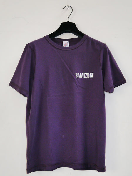SM002 BRAND LOGO T-SHIRT - PURPLE