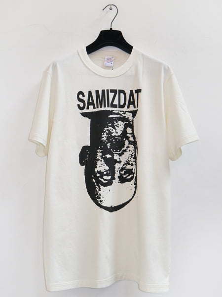 SM062 FACE T-SHIRT - OFF WHITE