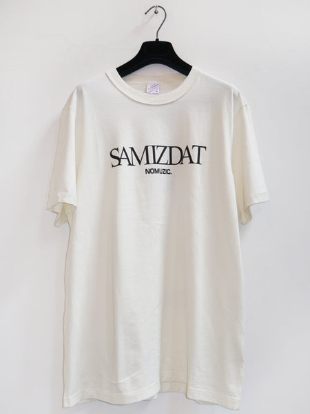 SM060 LOGO T-SHIRT - OFF WHITE