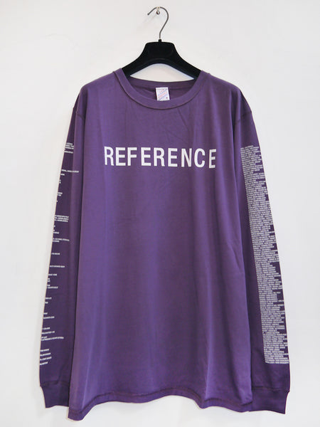 SM008 REFERENCE LONGSLEEVE T-SHIRT - PURPLE