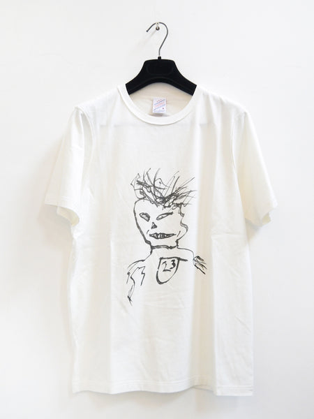 SM004 WILLIAM BURROUGHS T-SHIRT - OFF WHITE