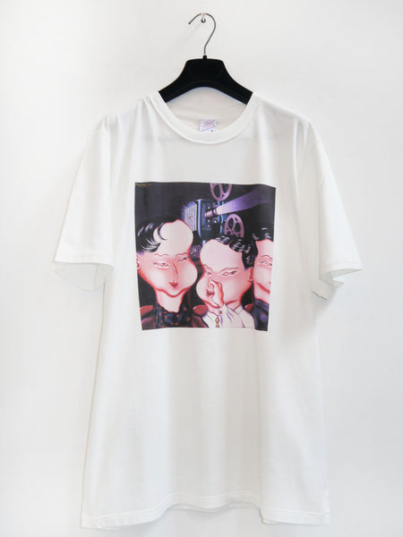 SM033 SECRET T-SHIRT - OFF WHITE